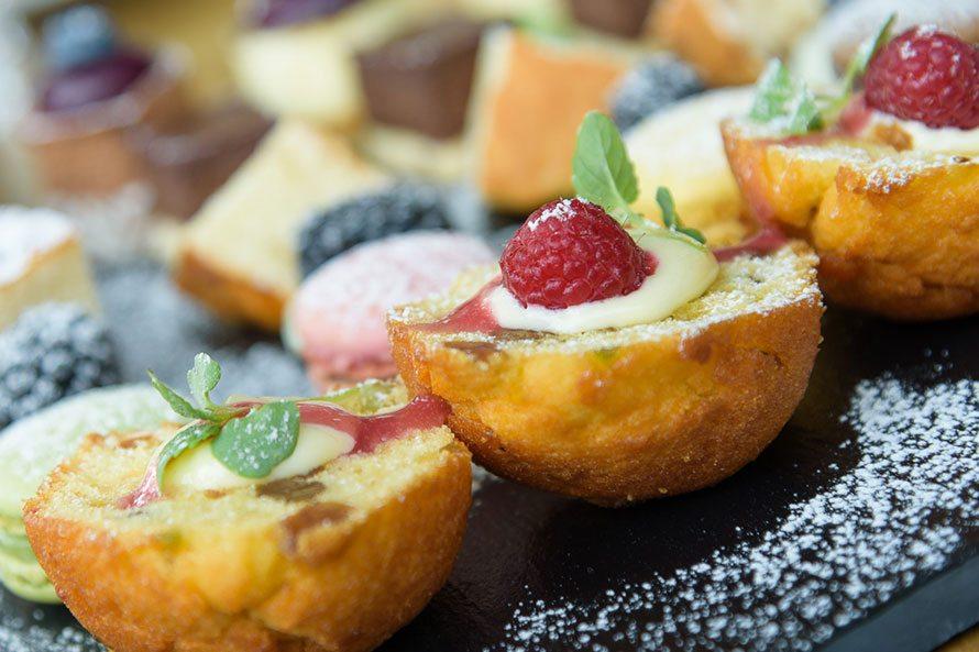 Brasserie de Boerderij hapje closeup